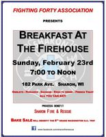 Breakfast at the Firehouse