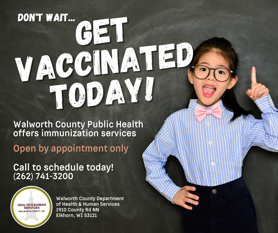 Get Vaccinated Today